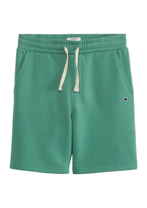 Crown & Ivy™ Boys 8-20 Elastic Shorts
