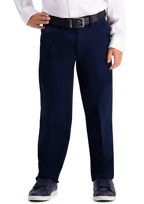 Haggar® Boys 8-20 Premium No Iron Khaki Pants