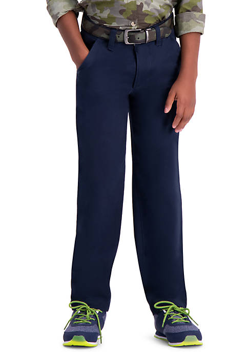 Haggar® Boys 8-20 Slim Fit Sustainable Chino Pants