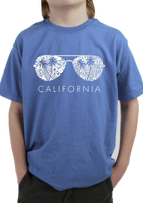 Boys 8-20 Word Art T-Shirt - California Shades