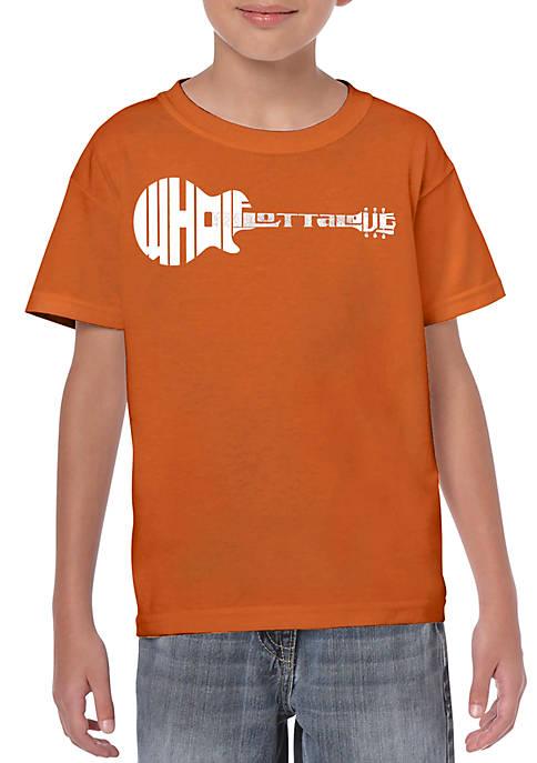 Boys 8-20 Word Art T Shirt - Whole Lotta Love