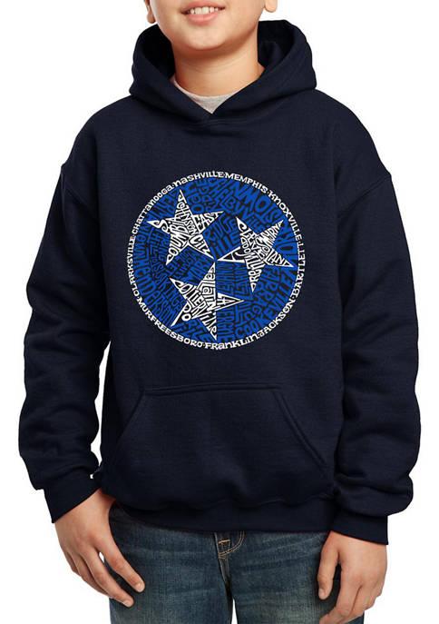 Boys 8-20 Word Art Hooded Sweatshirt - Tennessee Tristar