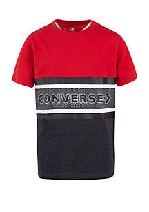 Converse Boys 8-20 Retro Stripe T Shirt