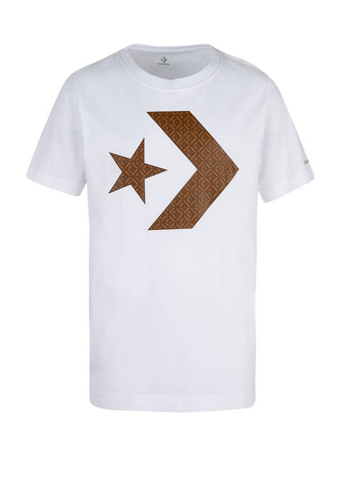 Boys 8-20 Star Chevron Rubber Sole Graphic T-Shirt