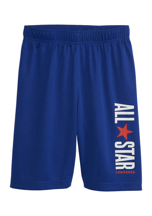 Boys 8-20 Convertible All Star Graphic 2 Tone Shorts