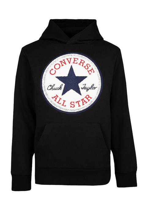 Converse Boys 8-20 Chuck Logo Graphic Hoodie
