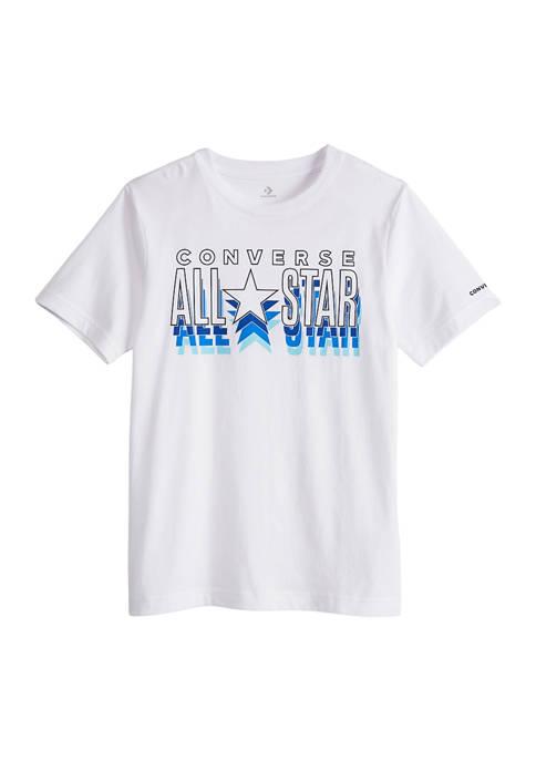 Boys 8-20 Repeat All Star Logo Graphic T-Shirt