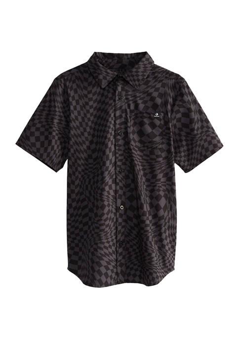 Boys 8-20 Woven Polo Shirt