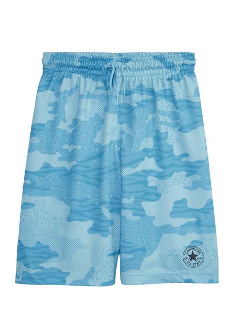 Converse Boys 8-20 Camouflage Mesh Shorts
