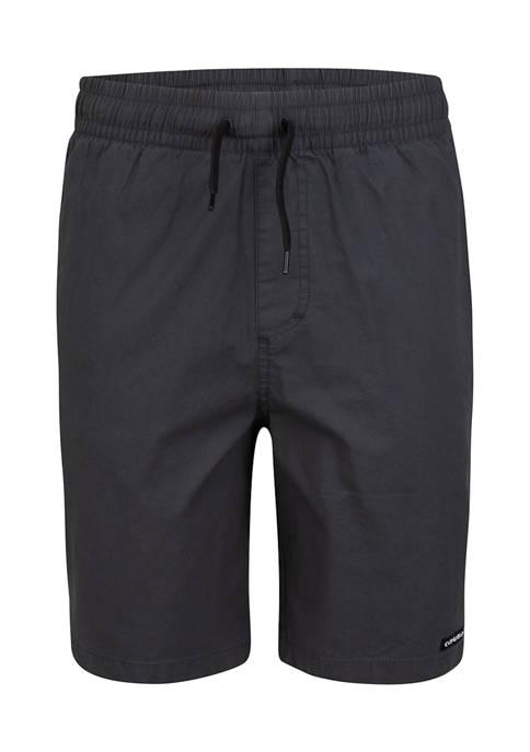 Boys 8-20 Stretch Pull On Shorts
