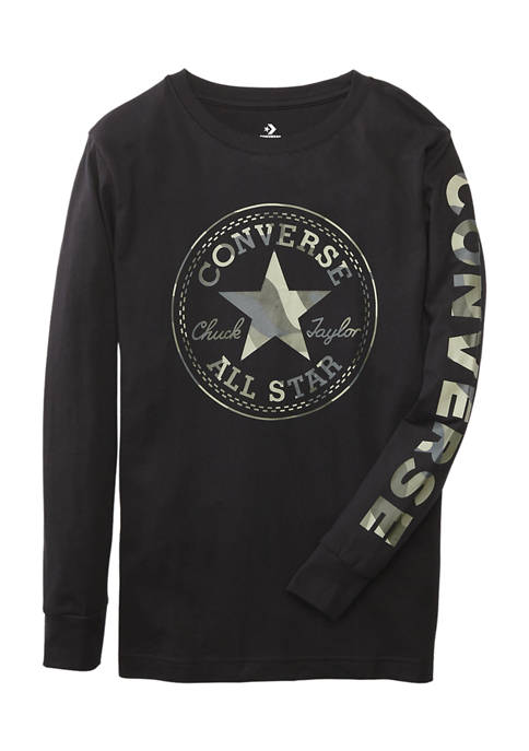 Converse Boys 8-20 Long Sleeve Logo Graphic T-Shirt