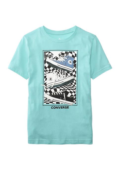 Converse Boys 8-20 Short Sleeve Graphic T-Shirt