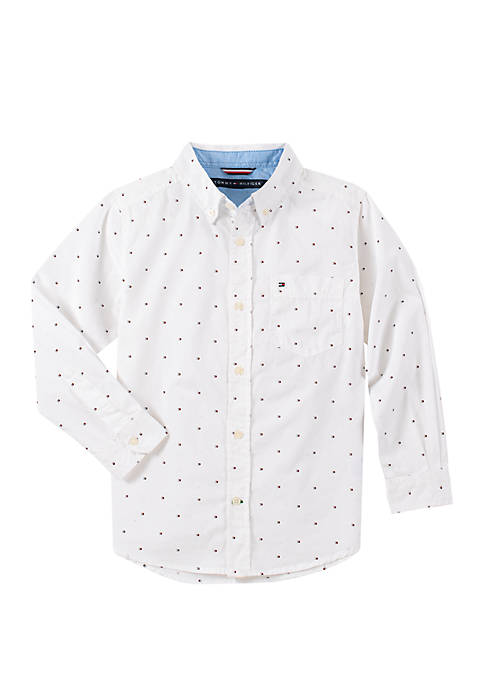 Tommy Hilfiger Boys 8-20 Fred Long Sleeve Printed