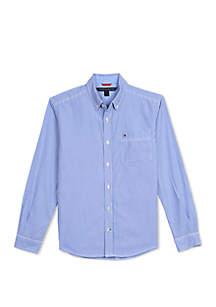 Tommy Hilfiger Boys 8-20 Striped Woven Shirt