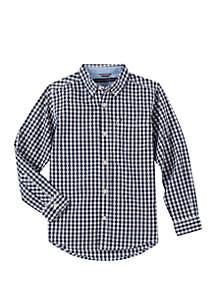 Tommy Hilfiger Boys 8-20 Baxter Woven Flag Shirt