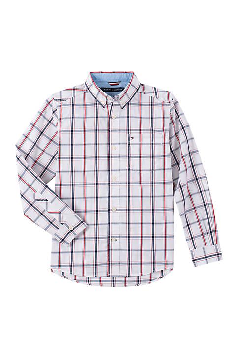 Boys 8-20 Samuel Plaid Woven Shirt