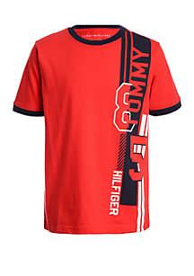 Tommy Hilfiger Boys 8-20 Side Logo T Shirt