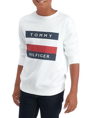 Tommy Hilfiger Men's Austin Rugby Long Sleeve Jumper
