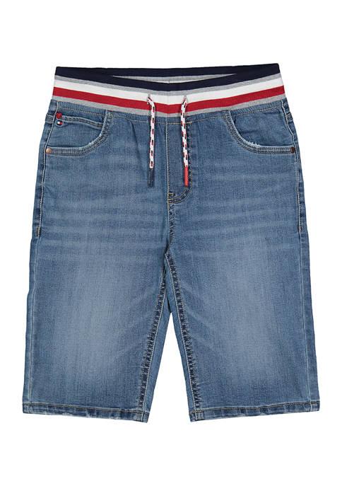 Tommy Hilfiger Boys 8-20 Mystic Road Denim Shorts
