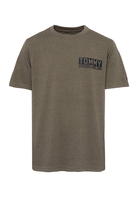 Boys 8-20 Camo Back Hit Graphic T-Shirt