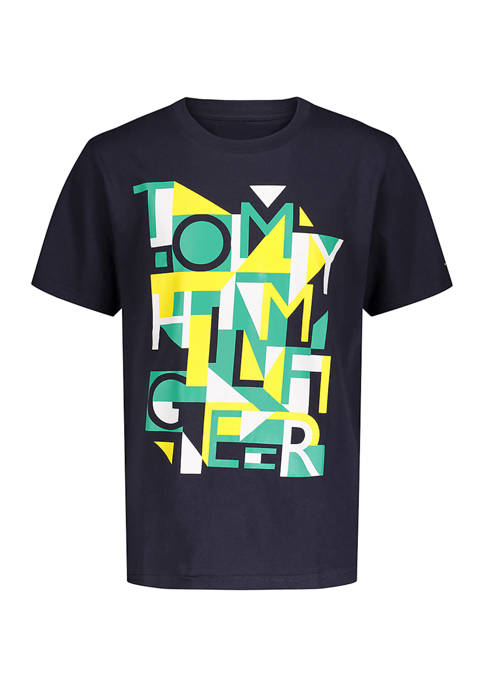 Boys 8-20 Puzzle Geometric T-Shirt