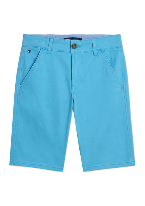 Tommy Hilfiger Boys 8-20 Flat Front Shorts