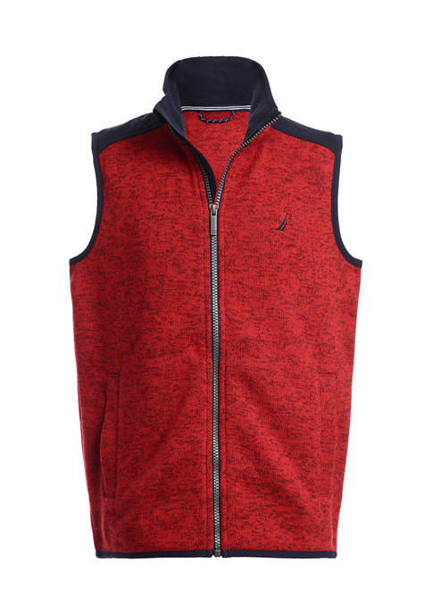 Boys 4-7 Sweater Fleece Vest