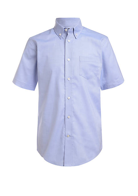 Toddler Boys 4-7 Short Sleeve Oxford Shirt