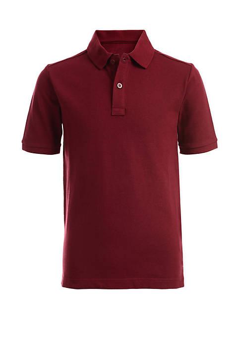 Boys 8-20 Husky Polo T Shirt