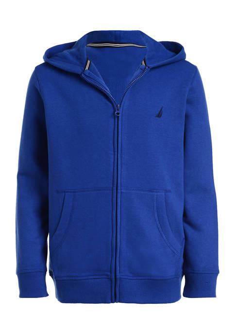 Boys 4-7 Full Zip Fleece Hoodie