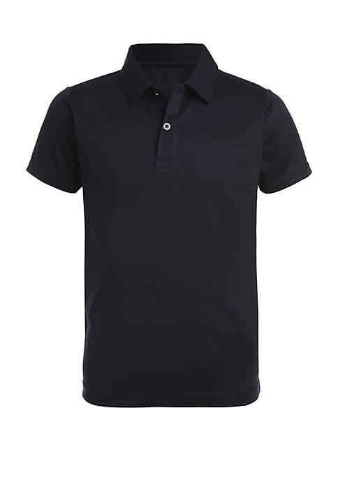Boys 4-7 Sensory Short Sleeve Performance Polo Shirt