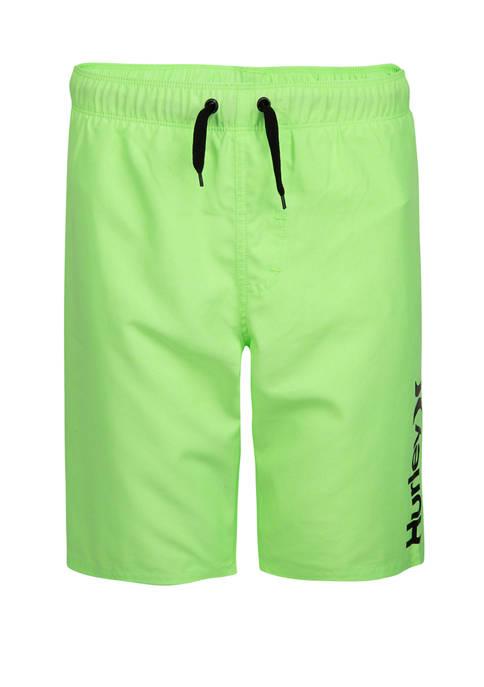 Hurley® Boys 8-20 Heathered Pull On Swim Trunks