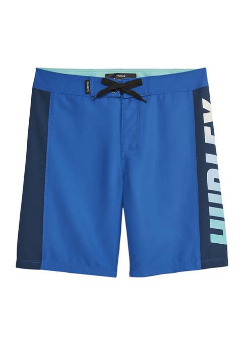 Hurley® Boys 8-20 Logo Swim Trunks