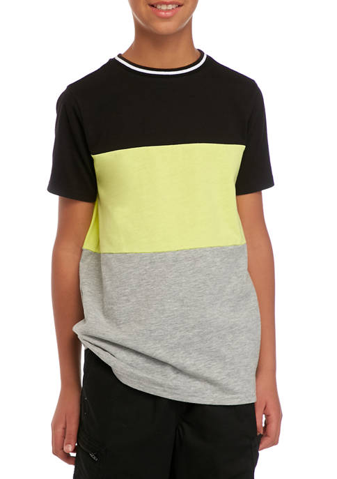 Boys 8-20 Color Block T-Shirt
