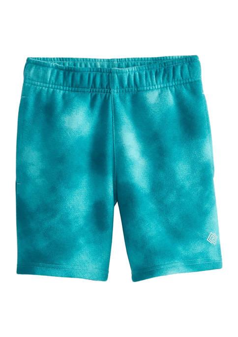 Boys 4-7 Tie Dye Fleece Shorts