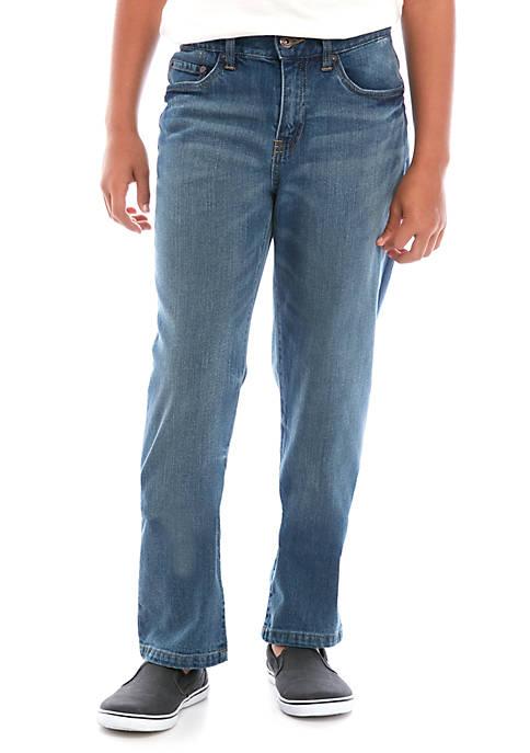 Boys 8-20 5 Pocket Classic Straight Jeans