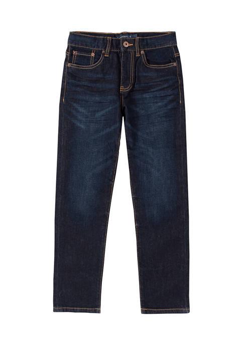 Lucky Brand Boys 8-20 Dark Wash Blue Jeans