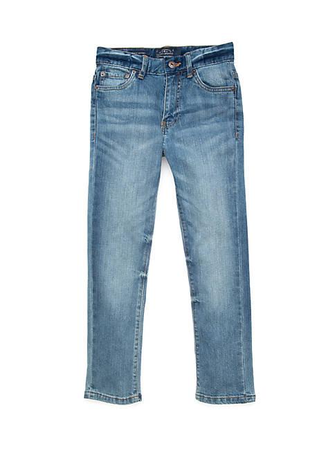 Boys 8-20 5 Pocket Stretch Twill Authentic Skinny Jeans