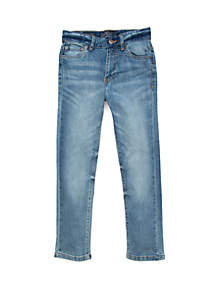 Lucky Brand Boys 8-20 5 Pocket Stretch Twill Authentic Skinny Jeans
