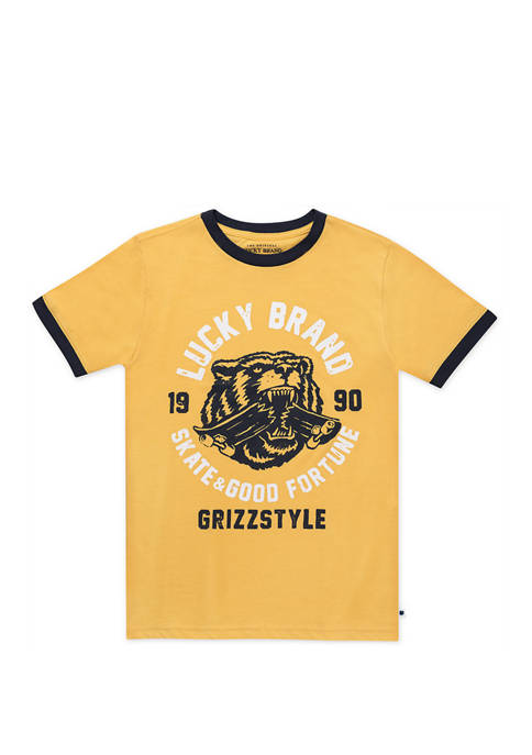 Boys 8-20 Grizzly Style Graphic T-Shirt