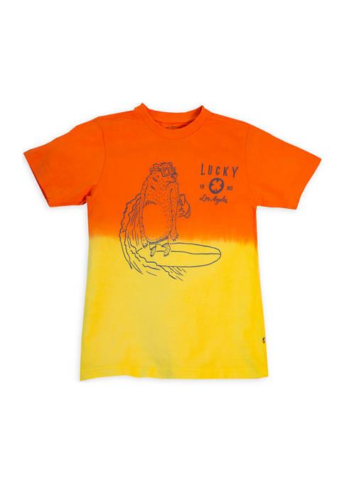 Boys 8-20 Bear Dip Dye T-Shirt