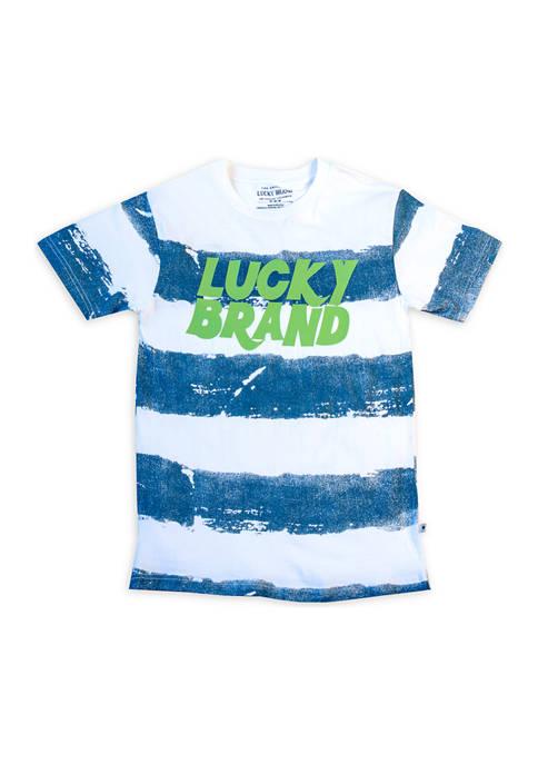 Boys 8-20 Lucky Striped T-Shirt