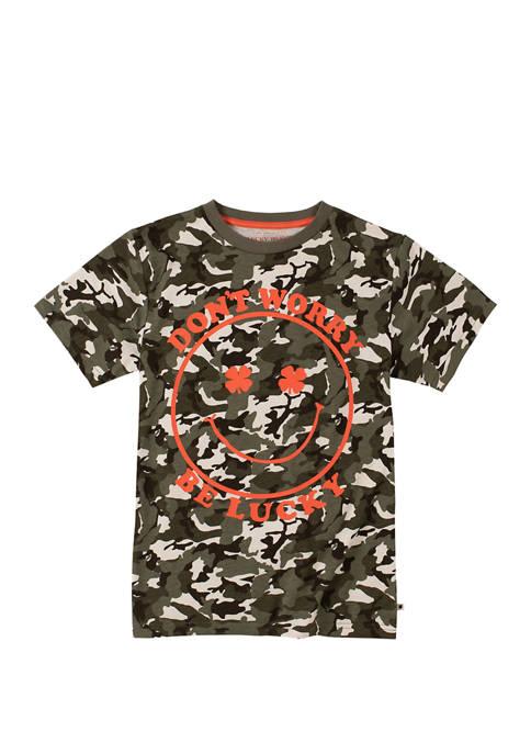 Boys 8-20 Camo Graphic T-Shirt