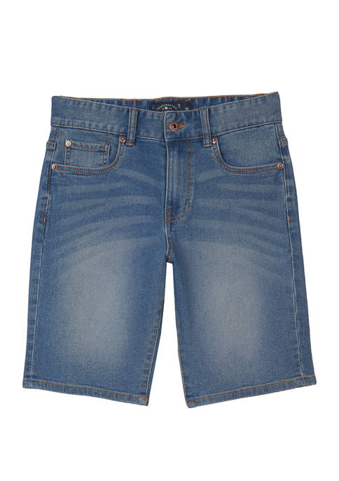 Lucky Brand Boys 8-20 Yorba Linda Denim Shorts