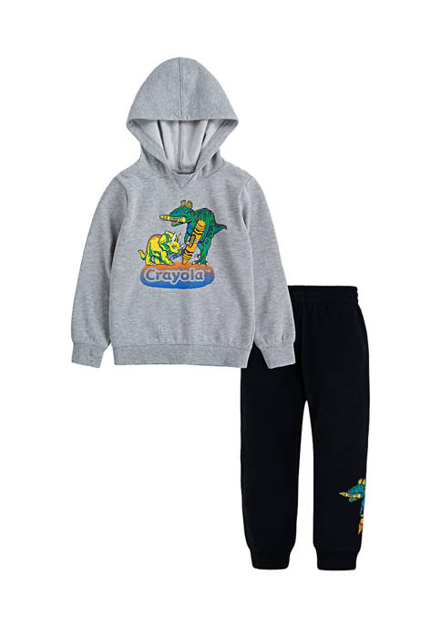 Crayola® Boys 4-7 Pullover and Joggers Set