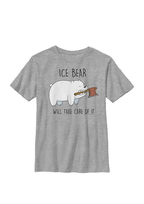 Cartoon Network Bare Bears Ice Bear Take Care
