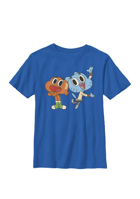 Cartoon Network Gumball and Darwin Best Friends Crew