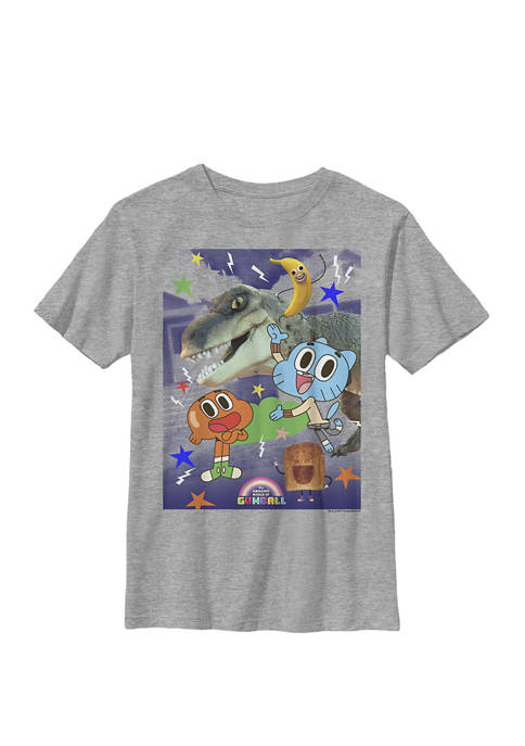 Gumball Darwin And Friends Fun Time Crew Graphic T-Shirt