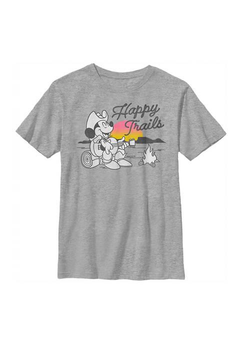 Disney® Mickey Boys 4-7 Happy Trails Graphic T-Shirt