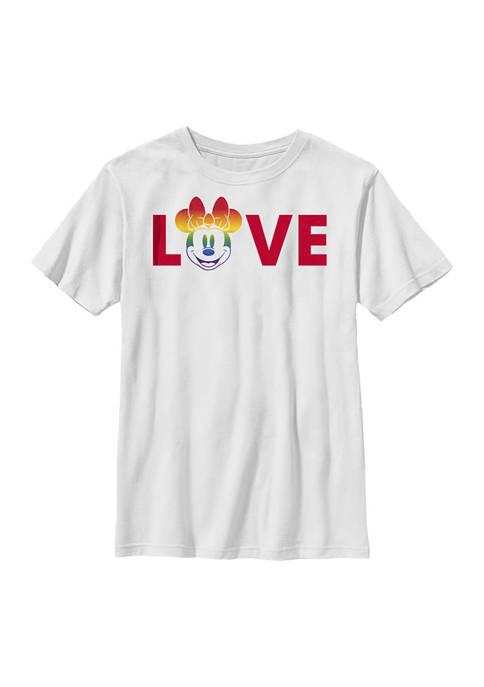 Disney® Boys 4-7 Loves Pride Graphic T-Shirt